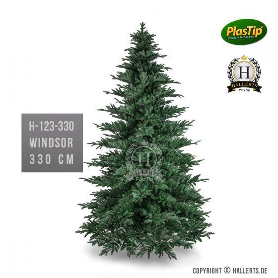 künstlicher Spritzguss Weihnachtsbaum Fichte Windsor ca. 330cm