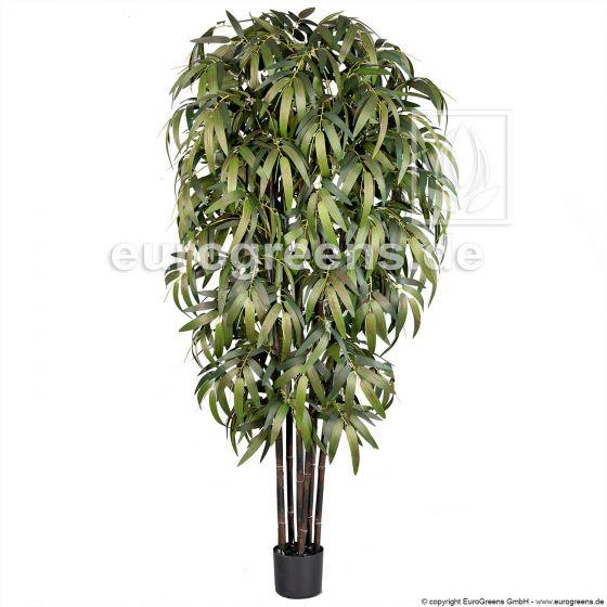 künstlicher Schwarzrohr Bambus ca. 180cm 2. Wahl