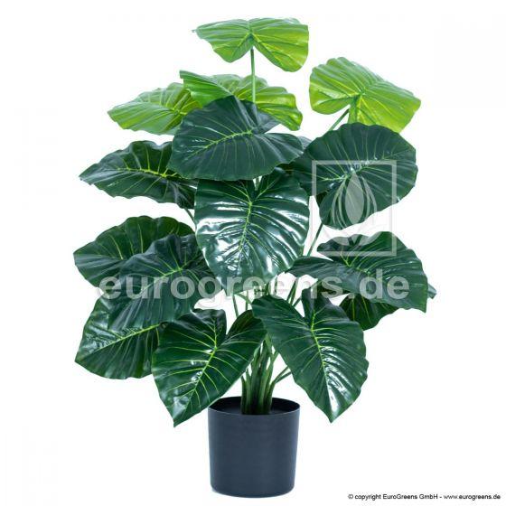 künstliche Alocasia Pflanze ca. 70cm