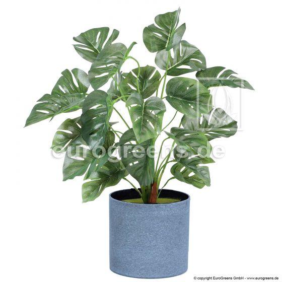 künstliche Monstera Pflanze ca. 45cm hoch