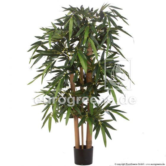 Kunstpflanze Madagascar Bambus 120cm