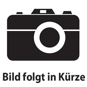 künstliche weiße Orchidee in schwarzem Melamintopf ca. 70cm