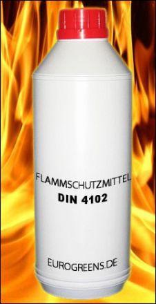 Flammschutzmittel / Brandschutzmittel für Kunstpflanzen 1 Liter (B1)