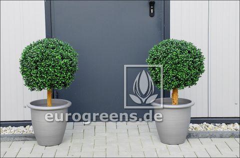 künstliche Buchsbaumkugel 40 cm Durchmesser