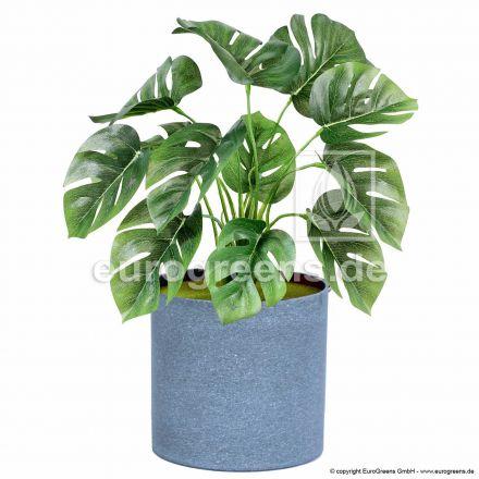 Kunstpflanze Monstera ca. 30cm mit Einsteckstab