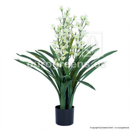 Kunstpflanze Orchidee Cymbidium ca. 95cm