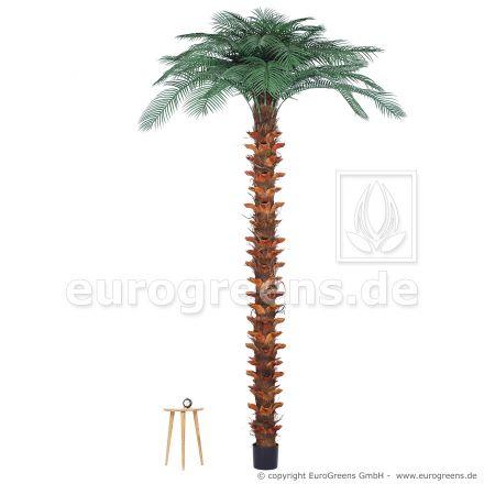 Kunspalme wetterfest, künstliche Pindo-Palme ca. 300cm