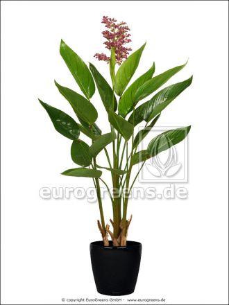 künstliche Pontederia Pflanze mit lila Blüten ca. 130cm