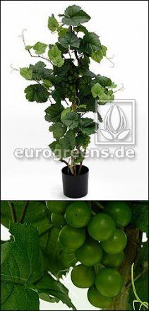 Kunstpflanze Rebstock mit Trauben 90cm