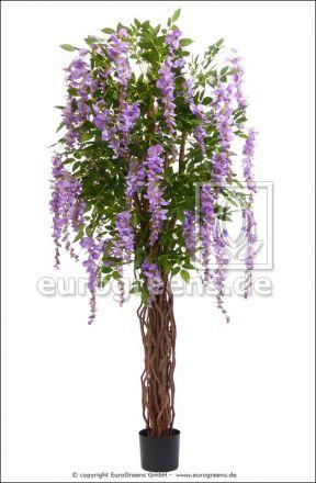 künstliche Wisteria Liane  lavendel ca. 180cm