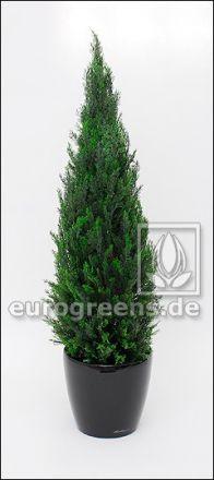 Kunstbaum wetterfest, künstliche Zypresse Toscana ca. 120cm