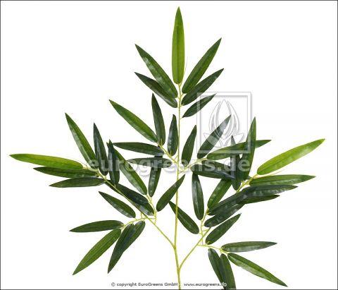 künstlicher Bambuszweig 60cm mit Tarpaulinblättern