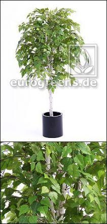 Kunstpflanze Birkenbaum Deluxe ca. 180cm