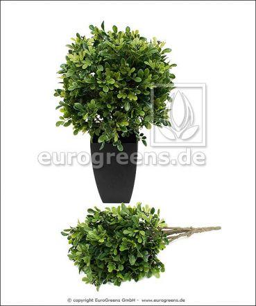 künstlicher Buchsbusch ca. 50cm (mit Einsteckstab/ ungetopft)