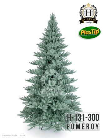 künstlicher Spritzguss Weihnachtsbaum Blautanne Pomeroy ca. 300cm