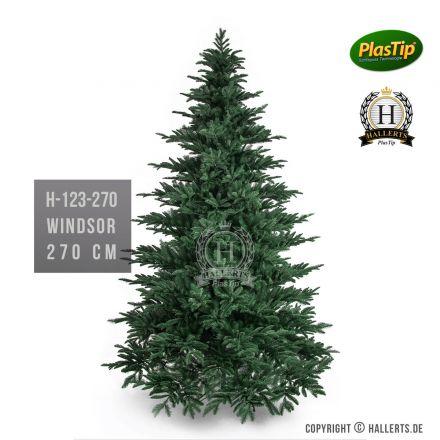 künstlicher Spritzguss Weihnachtsbaum Fichte Windsor ca. 270cm