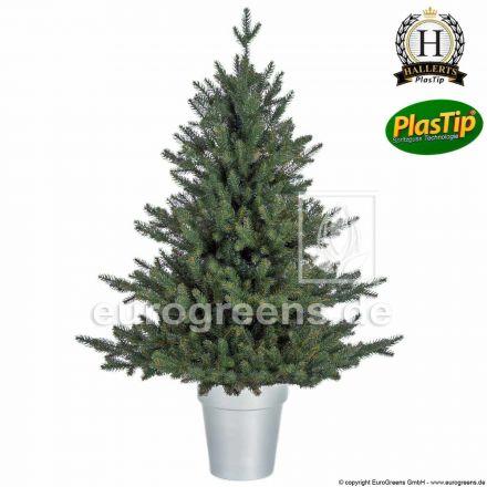 künstlicher Spritzguss Weihnachtsbaum Nobilis Edeltanne Oxburgh ca. 90cm