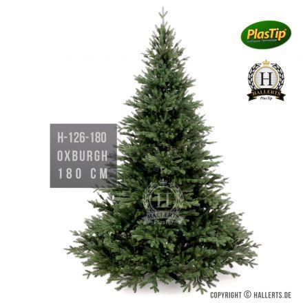 künstlicher Spritzguss Weihnachtsbaum Nobilis Edeltanne Oxburgh ca. 180cm
