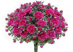 Kunstblume Chrysanthemenbusch lila (mit Einsteckstab/ ungetopft)