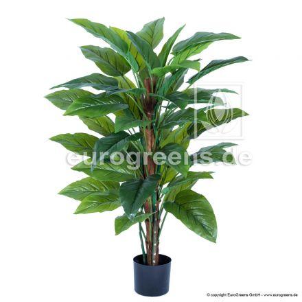 Kunstpflanze Philodendron ca. 130cm am Sisalstamm