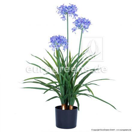 Kunstpflanze Schmucklilie ca. 90cm hoch