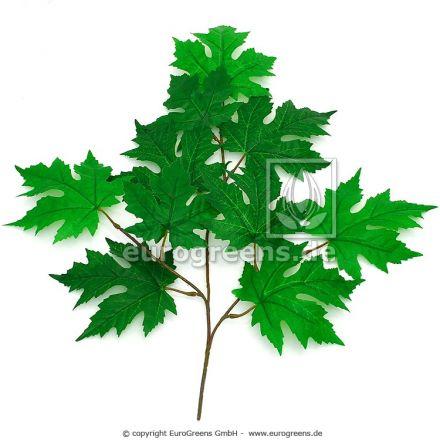 Kunstzweig  Ahorn grün ca. 55cm lang
