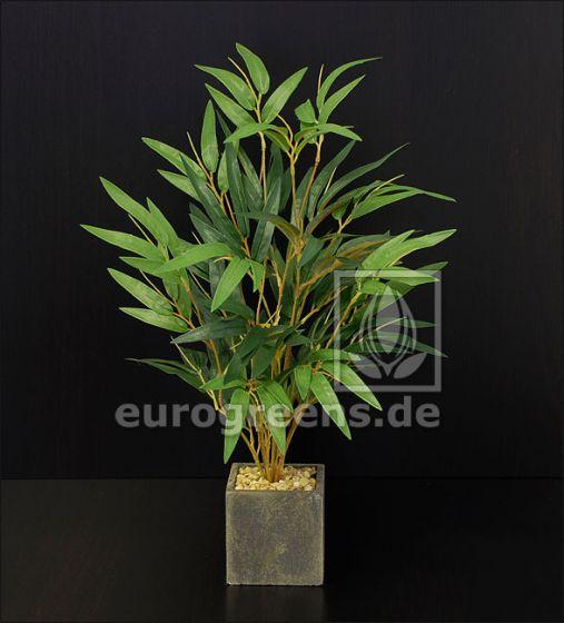 künstlicher Mini Bambus Busch ca. 40cm (mit Einsteckstab/ ungetopft)