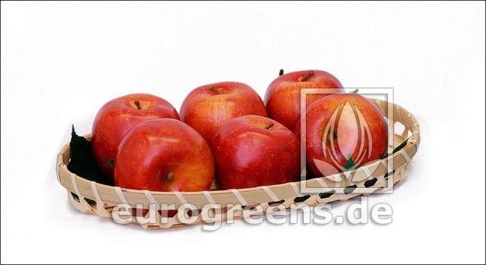 künstlicher Apfel rot