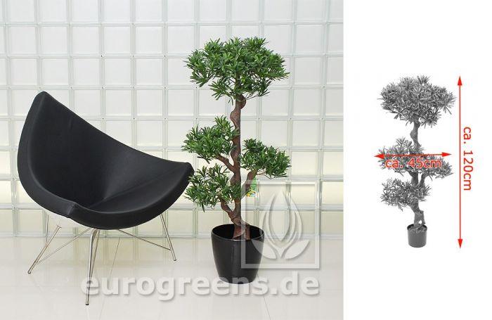 künstlicher Podocarpus Bonsai ca. 130cm