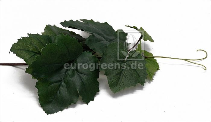 künstlicher Wein Zweig ca. 25-30cm