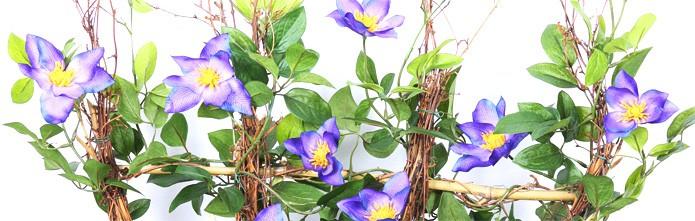 Kunstpflanze Clematis