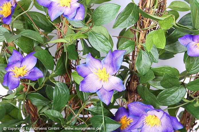 künstliche Rankpflanzen Clematis