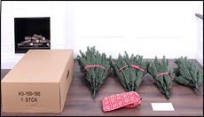 künstlicher Weihnachtsbaum wie Sie ihn geliefert bekommen