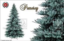 künstlicher Weihnachtsbaum Spritzguss Blautanne Pomeroy