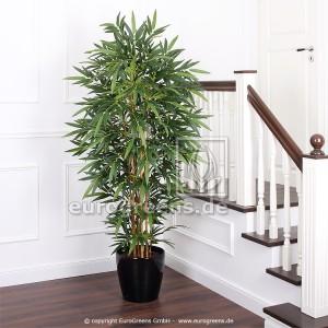 Kunstpflanze künstlicher Bambus Kunstbambus